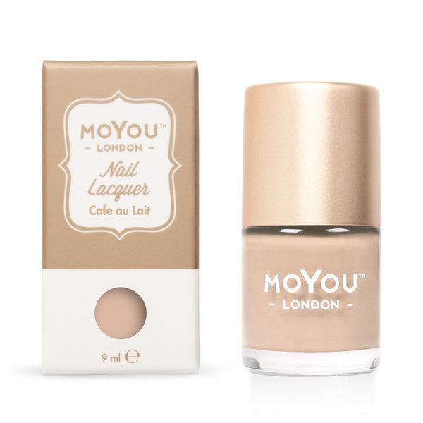 MoYou-London - Cafe au Lait Stamping Polish
