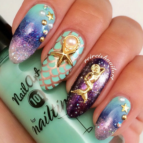 Daily Charme - Mermaid / Gold