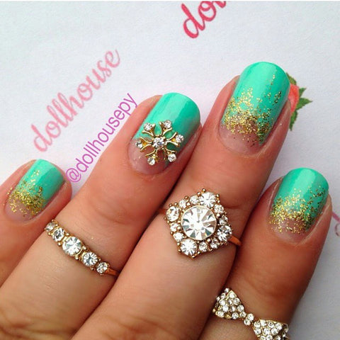 Daily Charme - Snowflake / Gold