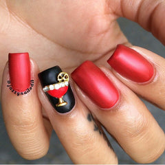 Daily Charme - Cosmopolitan / Red / Gold
