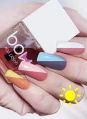 Bow Nail Polish - Fast Dry Sun Top (Solar)