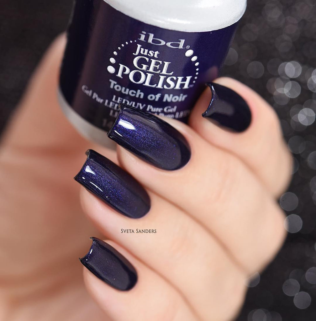 IBD - Just Gel Polish Touch Of Noir | Whats Up Nails