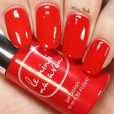 Le Mini Macaron - Cherry Red - Gel Polish | Whats Up Nails
