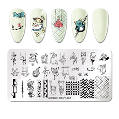 Nicole Diary - 200 Be My Puppet Stamping Plate