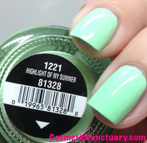 China Glaze - Highlight Of My Summer