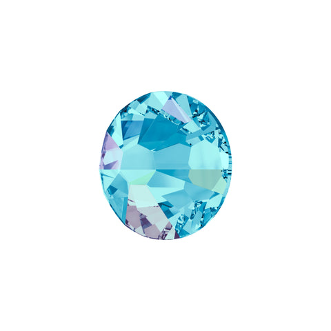 Swarovski Crystals - Aquamarine AB (125 pieces)
