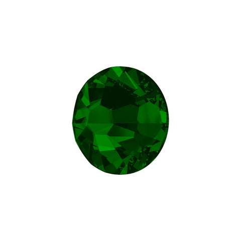 Swarovski Crystals - Dark Moss Green (140 pieces)