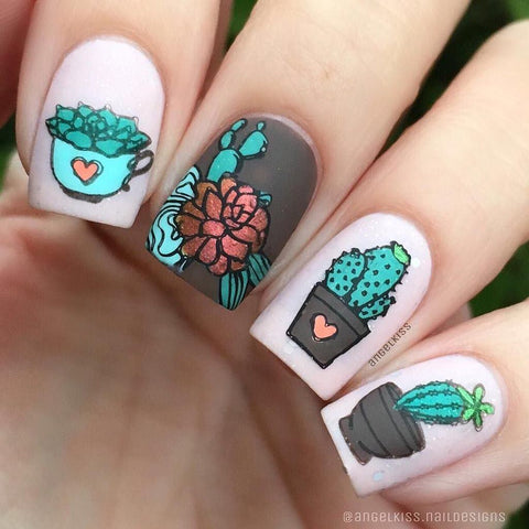 UberChic Beauty - UC Mini - Succulents