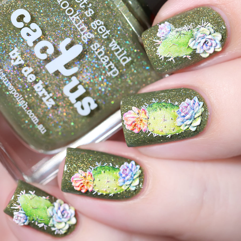 Fashion Nails - 3D 49 Water Decals | Whats Up Nails