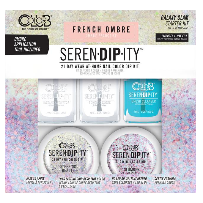 Color Club - Serendipity French Ombre Dip Starter Kit - Galaxy Glam