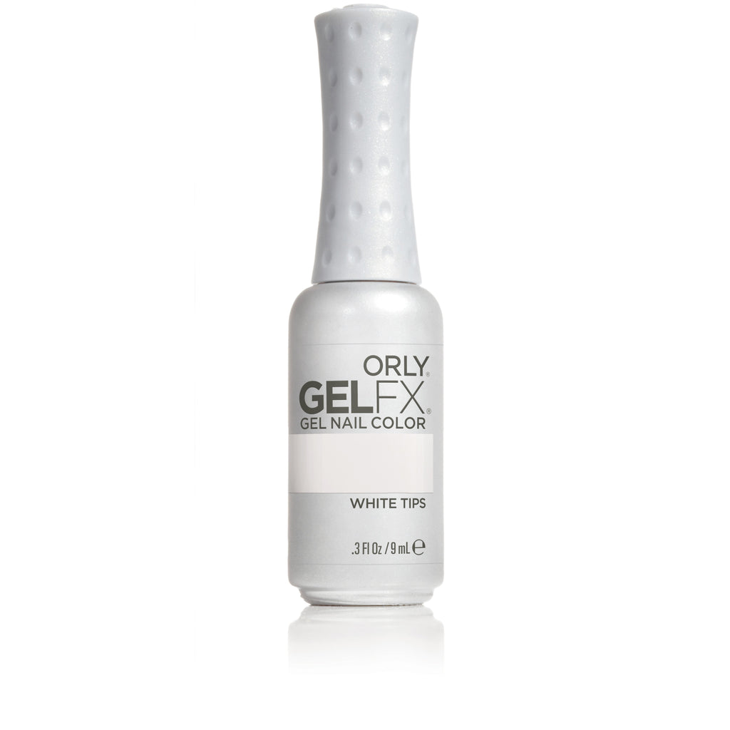 Orly Gel FX - White Tips