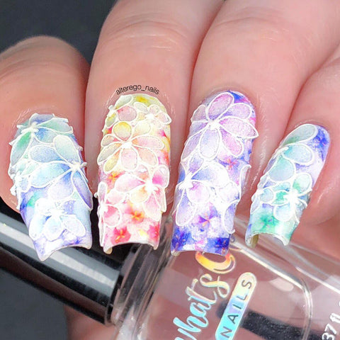 Fashion Nails - 3D 16 Water Decals