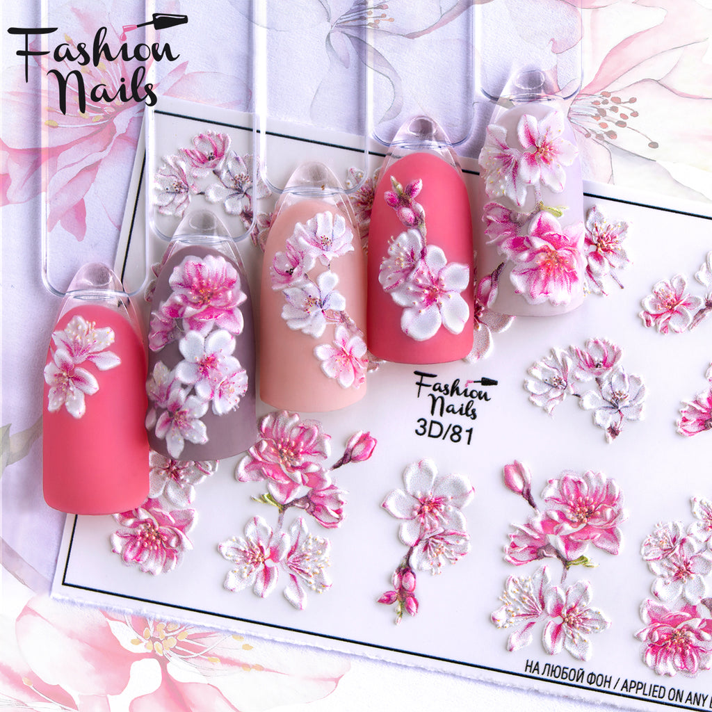 Fashion Nails - 3D 81 Water Decals