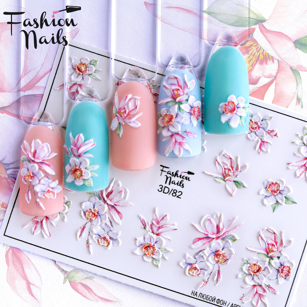 Fashion Nails - 3D 82 Water Decals