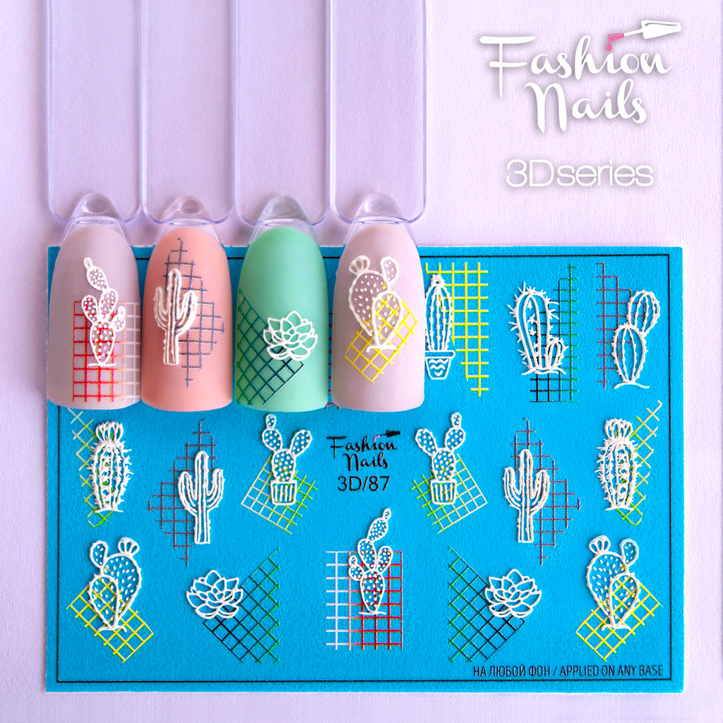 Fashion Nails - 3D 87 Water Decals