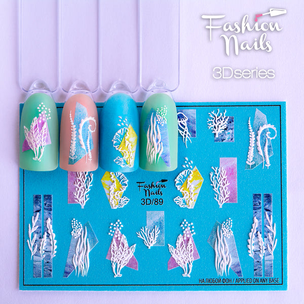 Fashion Nails - 3D 89 Water Decals