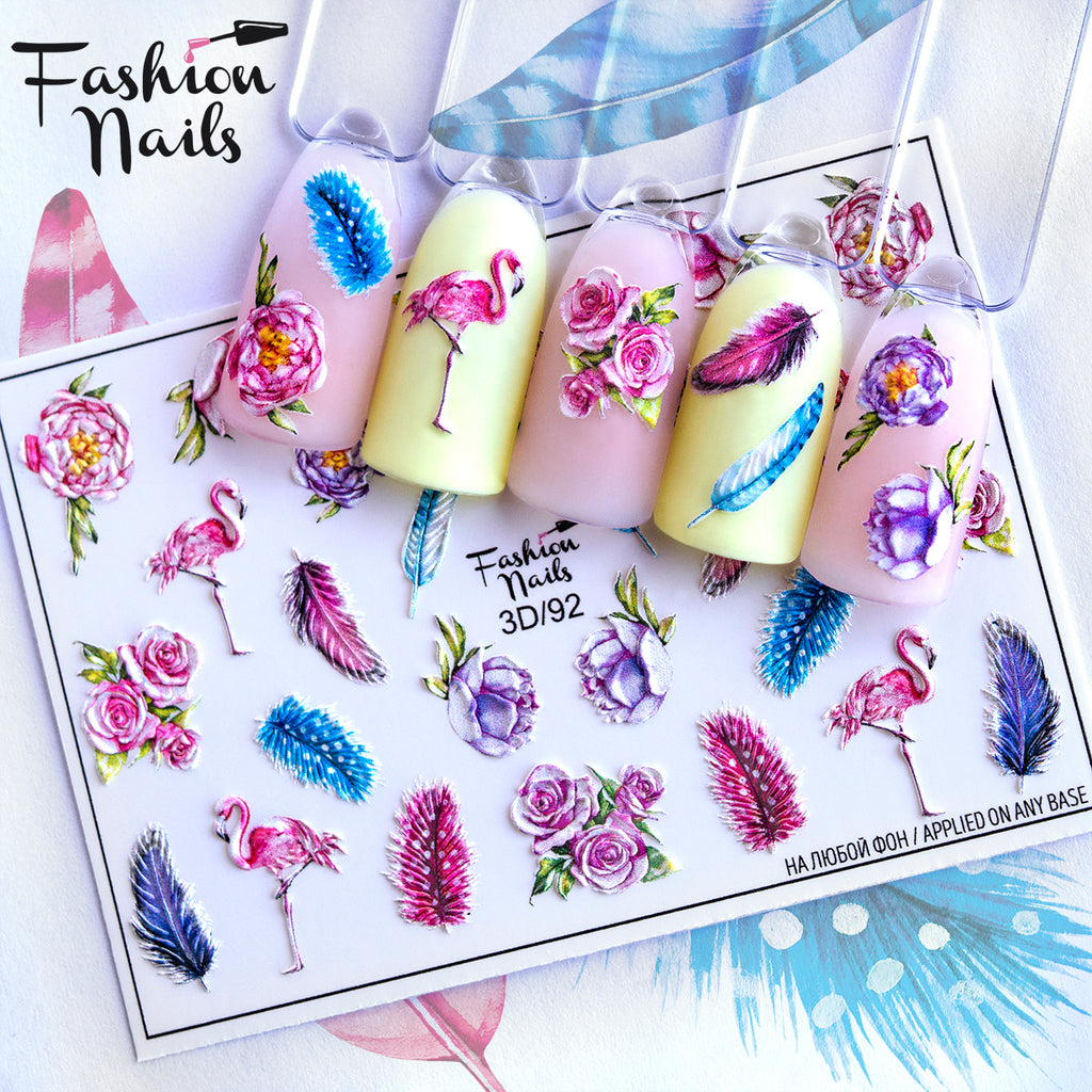 Fashion Nails - 3D  92 Water Decals