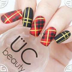 UberChic Beauty - Pretty in Plaid