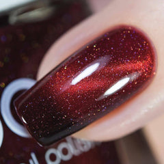Bow Nail Polish - Burn It Down (Magnetic + Thermal)