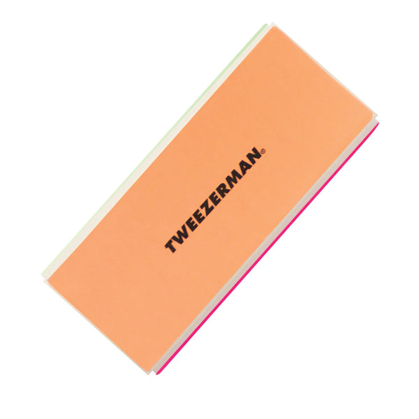 Tweezerman - Neon Hot File, Smooth, Buff & Shine Block