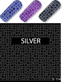 Milv - Water decals S114 silver