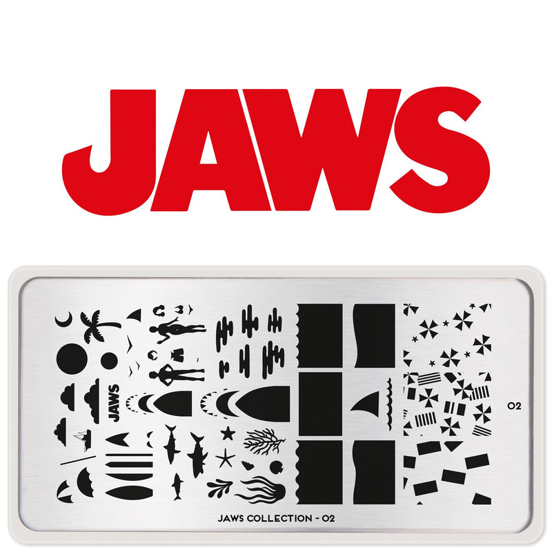 MoYou-London - Jaws 02 Stamping Plate