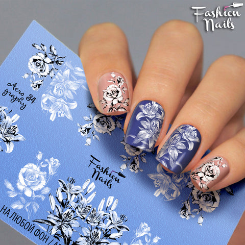 Fashion Nails - AEROgraphy 34 Water Decals