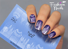 Fashion Nails - AEROgraphy 7 Water Decals