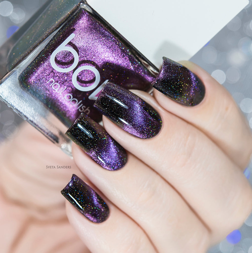 Bow Nail Polish - Alpha Omega Holo (Magnetic)