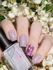Hit The Bottle - Aubergenie Stamping Polish