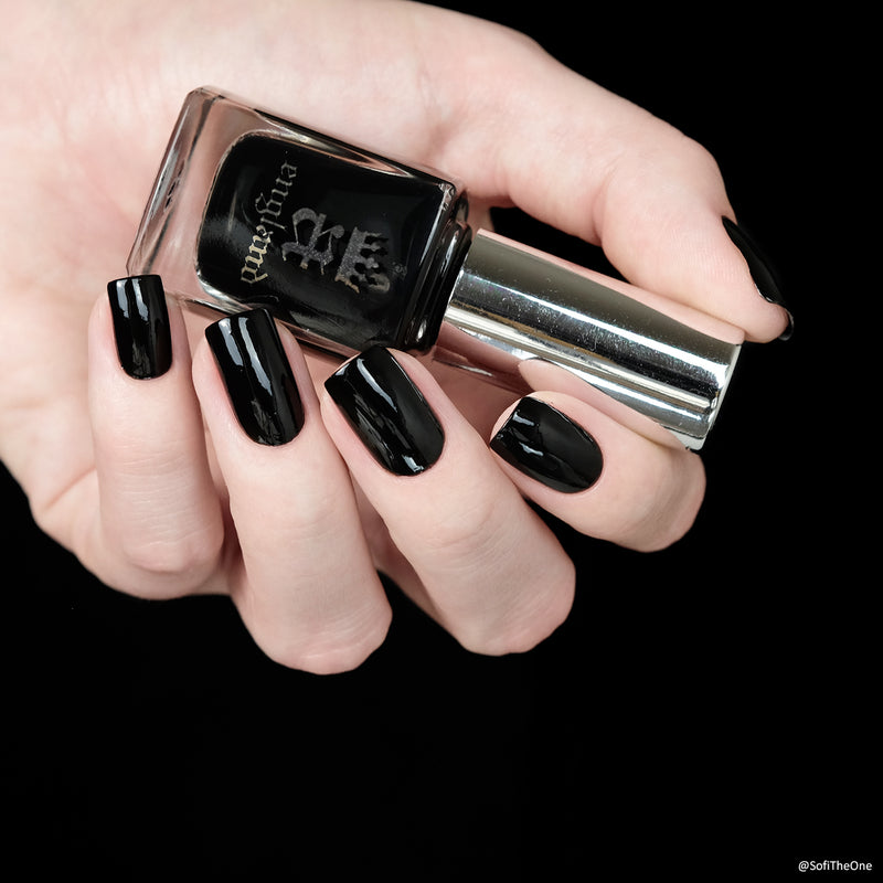 A-England - Black Knight Nail Polish