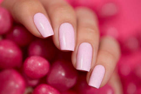 Bow Nail Polish - Thermo Top Coat Pink
