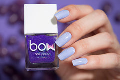 Bow Nail Polish - Thermo Top Coat Violet
