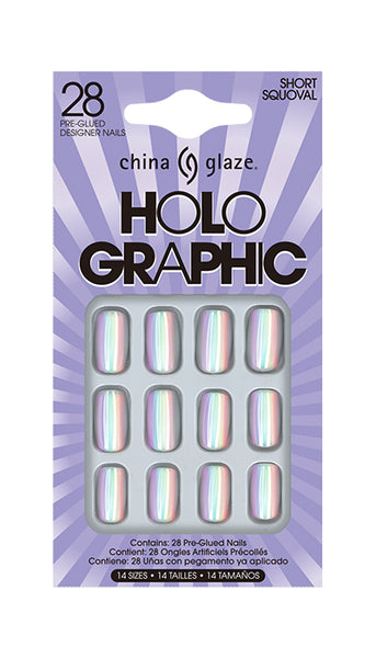 China Glaze - Holographic Nail Tips