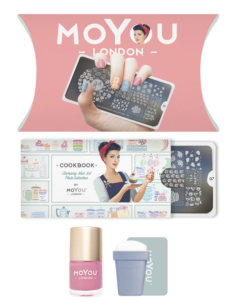 MoYou-London - Cook Book Stamping Kit