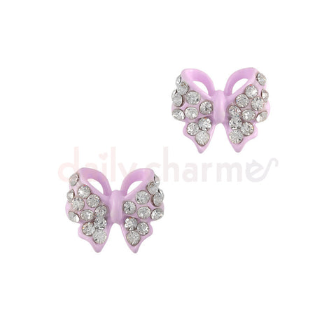 Daily Charme - Pastel Ribbon Bow / Purple