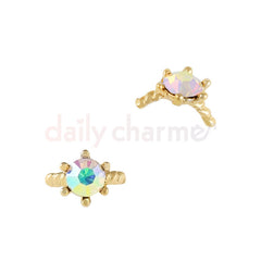 Daily Charme - Cora's Ring / Gold / AB Crystal
