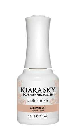 Kiara Sky - G403 Bare With Me Gel Polish