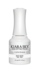 Kiara Sky - G623 Milky White Gel Polish