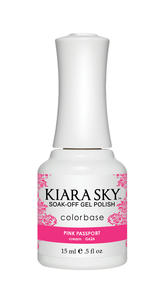 Kiara Sky - G626 Pink Passport Gel Polish