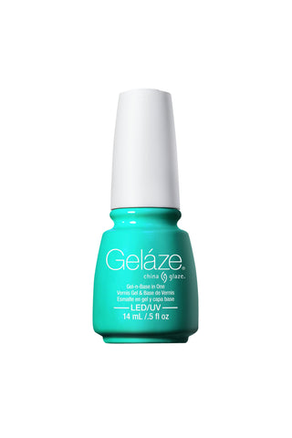 China Glaze Gelaze - Too Yacht To Handle Gel Polish