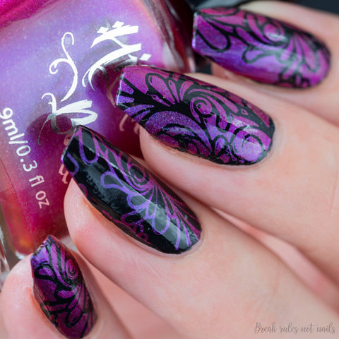 Hit The Bottle - Your Fuchsia looks Bright Stamping Polish