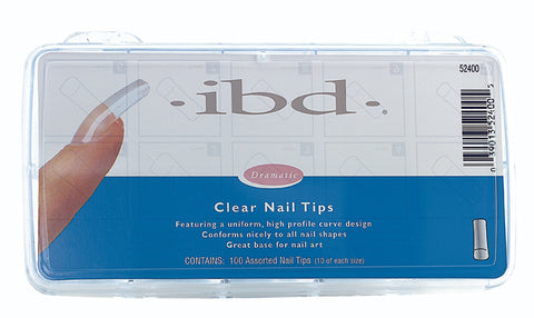 IBD - Clear Tips 100 ct
