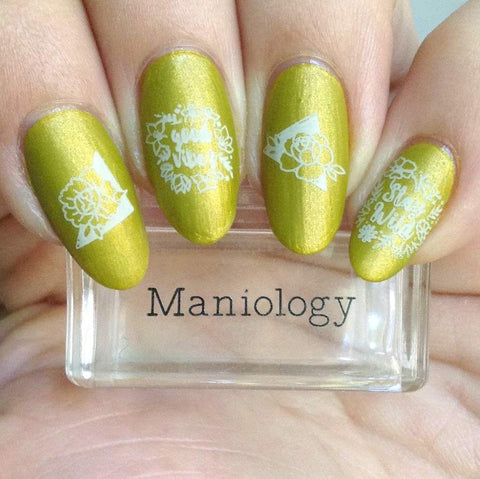 Maniology - Spring Occasions: M118 Petal Pusher
