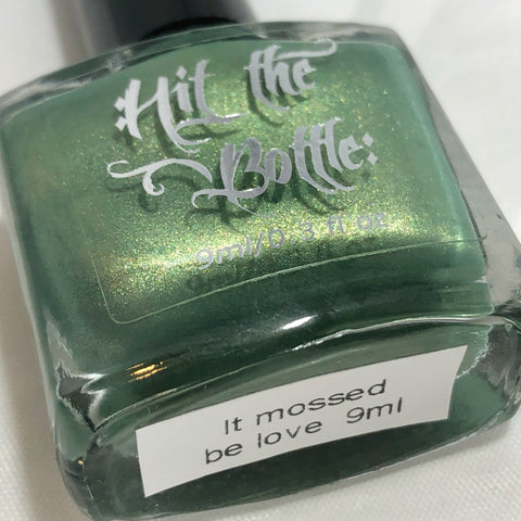 Hit The Bottle - It Mossed Be Love Stamping Polish