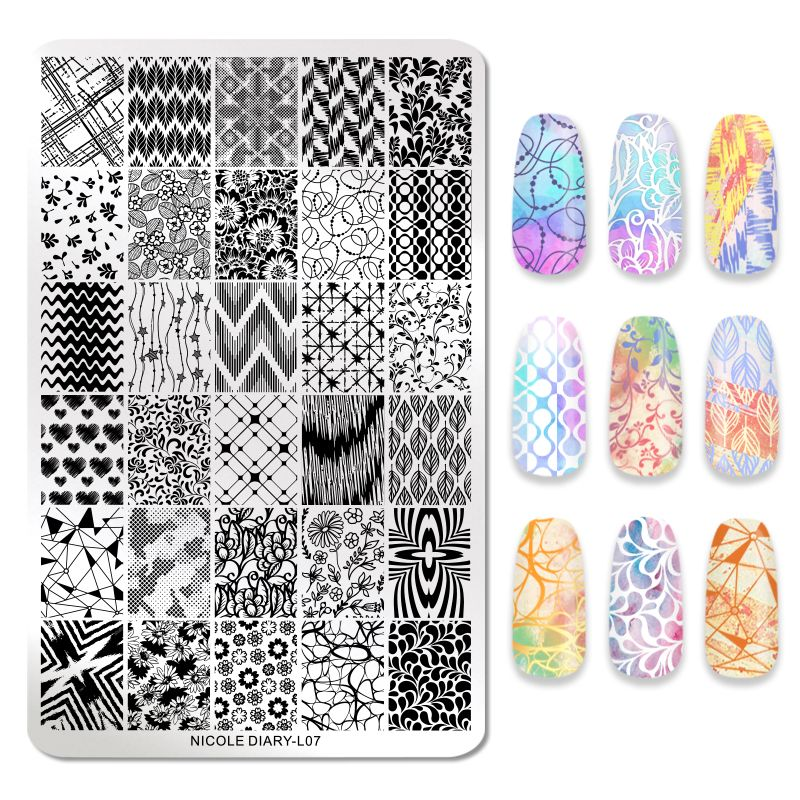 Nicole Diary - L07 Glorifying Patterns Stamping Plate