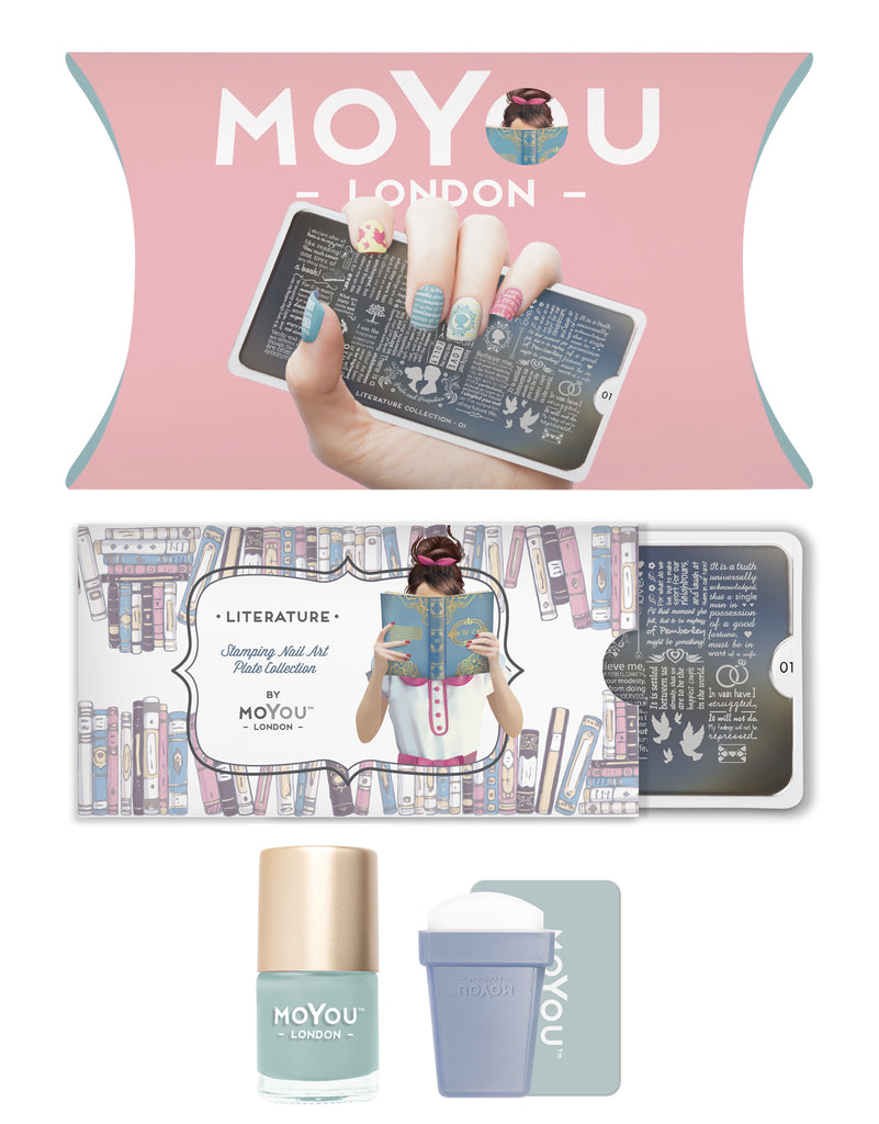 MoYou-London - Literature Stamping Kit | Whats Up Nails