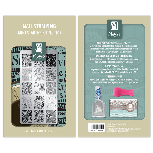 Moyra - 107 Mini Stamping Starter Kit