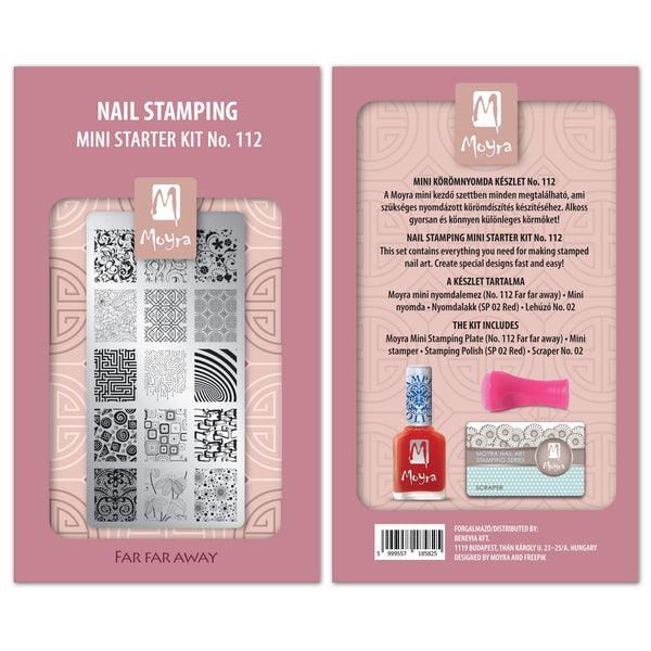 Moyra - 112 Mini Stamping Starter Kit