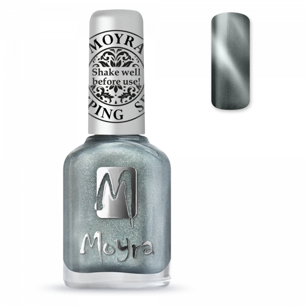 Moyra - SP 30 Magnetic Silver Cat Eye Stamping Polish